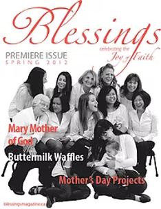 Blessing Magazine 2012 Cover