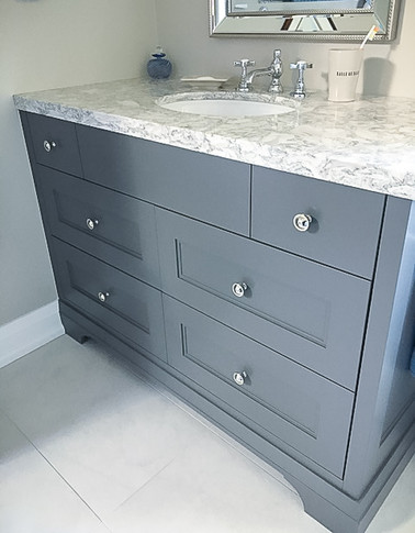 marble bathroom sink counter