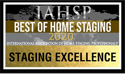 IAHS Staging Excellence 2020 Award