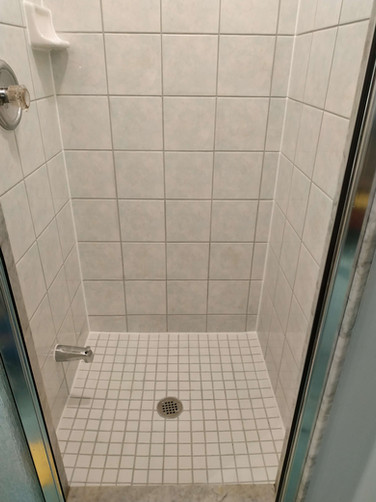 After Shower Stall Full Cleaning