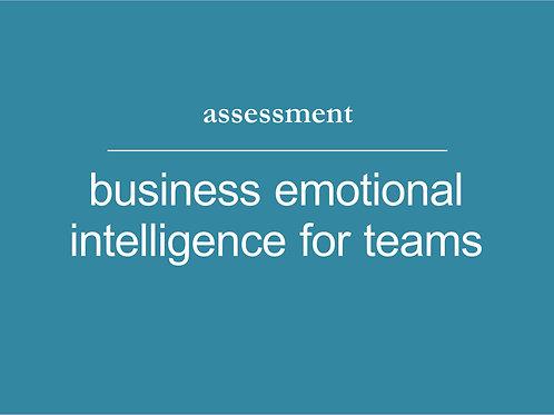 Business Emotional Intelligence Team Assessment