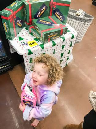 My sales rep working hard at Walmart!