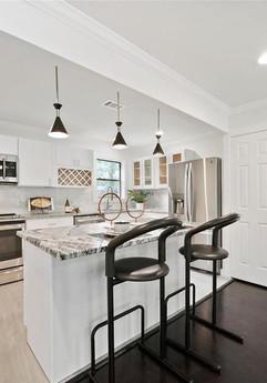 Kitchen Home Staging Houston