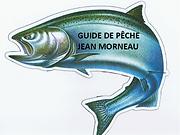 Guide de pêche Jean Morneau Logo