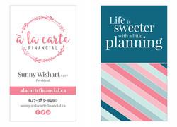 ideas company business card design