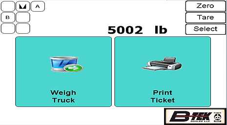 Main Weigh Screen