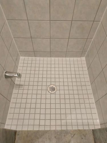 After Shower Floor Close-up