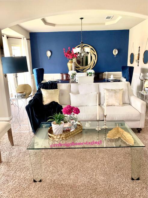 ReDesign Home Staging livingroom
