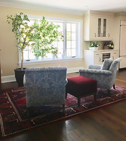 sitting room decorator