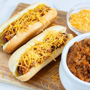 The Eat Shack Chilli Dogs