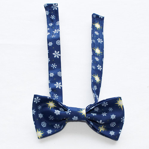 Holiday Fever Pattern Kids Bow Tie
