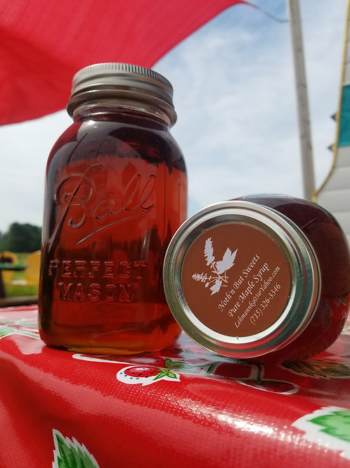 100% Pure Maple Syrup 1 Quart