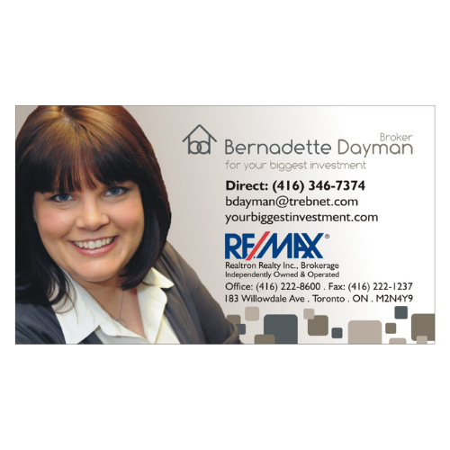 Bernadette Dayman Business Card