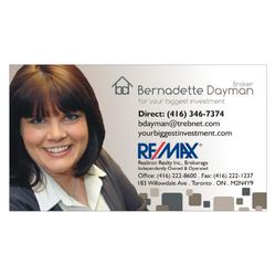 Bernadette Dayman Business Card