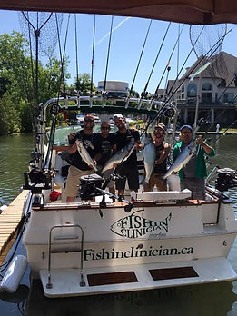 Fishin' Clinician Charters
