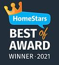 Best of HomeStars 2021 Badge