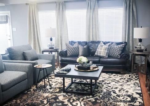 Living room in Houston