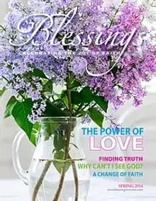 Blessing Magazine 2014 Cover
