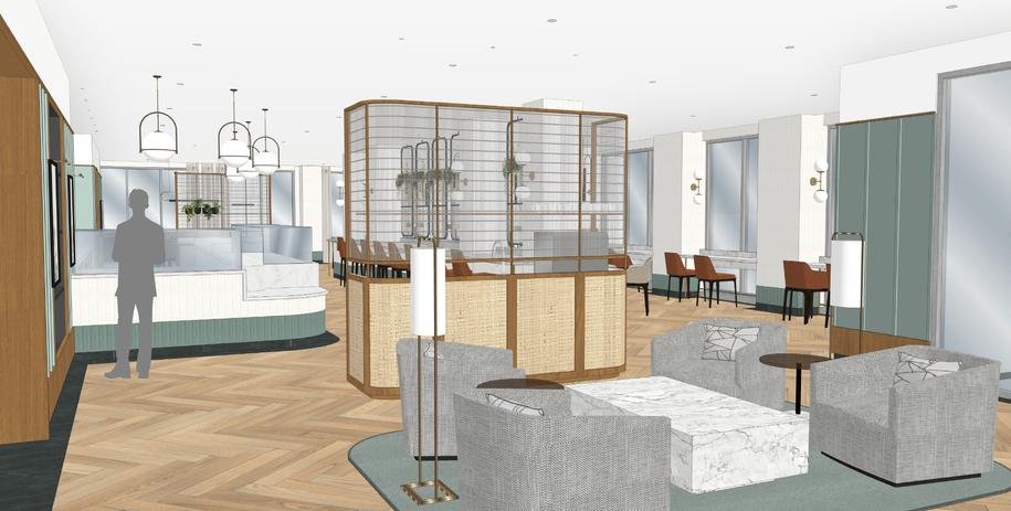 Bistro Lounge Area