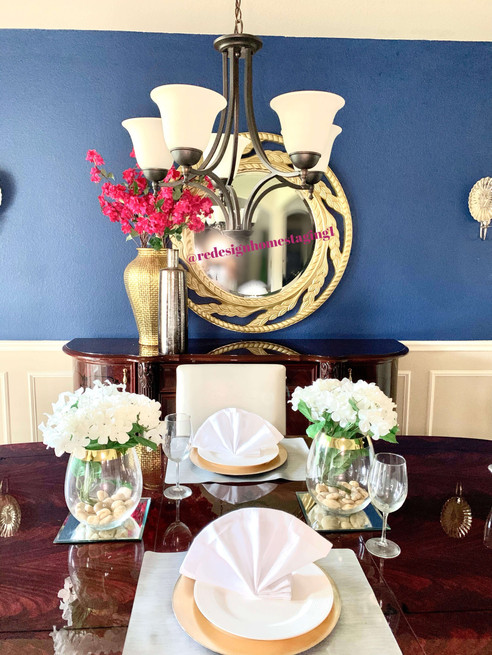 ReDesign Home Staging dining room
