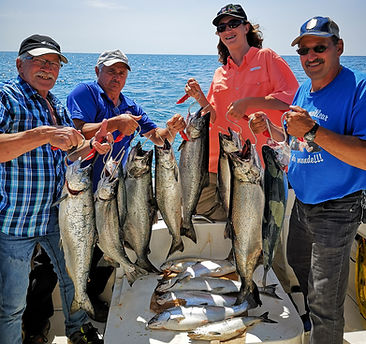 Lake Ontario Fishing Guide With Tony Lan