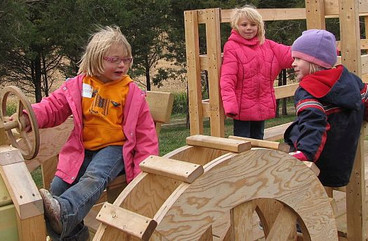 Wood tractor activities