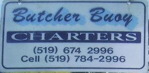 Butcher Bouy Charters Logo