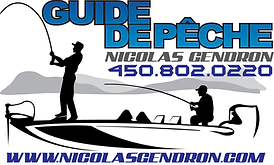 Guide de Peche Nicolas Gendron Logo