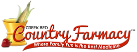 Creek Bed Country Farmacy Logo