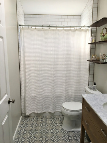 Guest bathroom upgraded