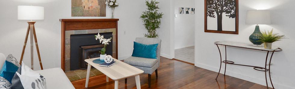 Scandinavian Influenced Sitting Room