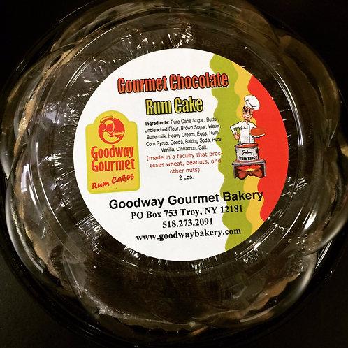 Gourmet Chocolate Rum Bundt Cake