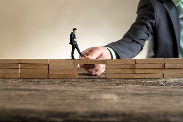 building-bridge-span-gap-little-business