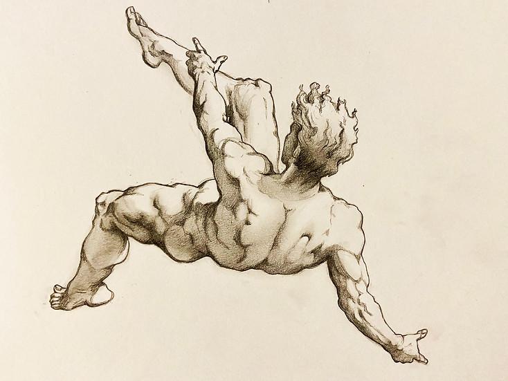 Hendrik Goltzius Study