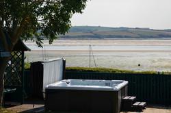 Hot Tub overlooking stunning views