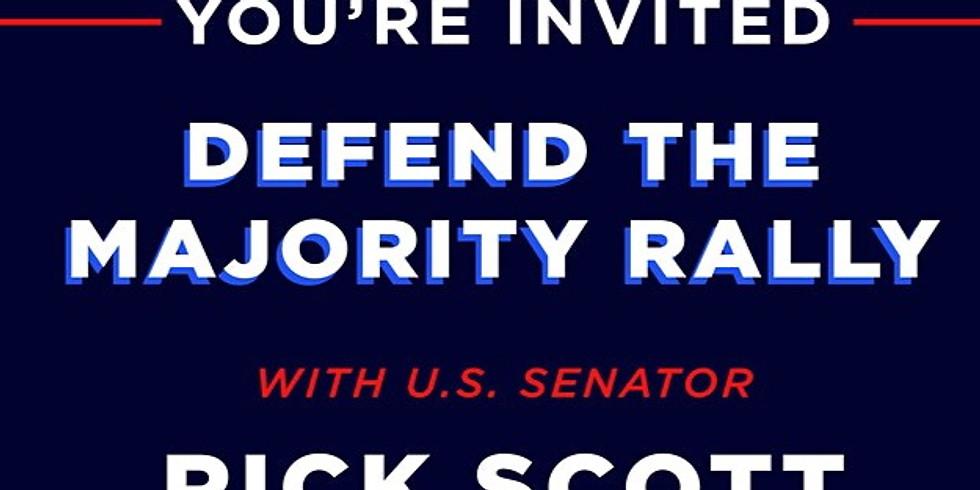 Defend The Majority Rally