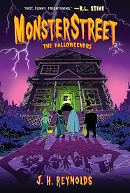 The Halloweeners (Monsterstreet #2) - Fi