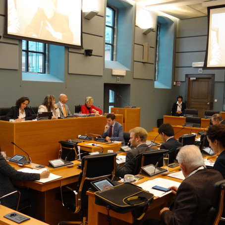 L'émergence d'un réseau en éthique et déontologie parlementaires