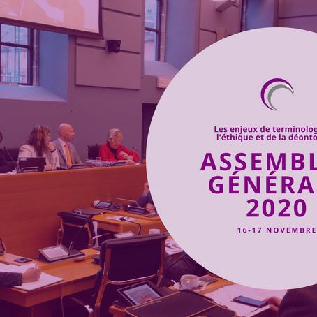 AGA 2020 les enjeux de terminologie de l'éthique et de la déontologie