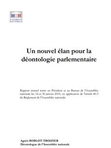Déontologue de l'Assemblée nationale de France