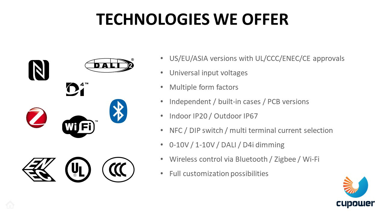 Technologies we offer