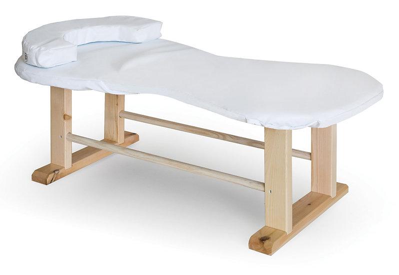 מיטת רופא - עץ - ארוכה