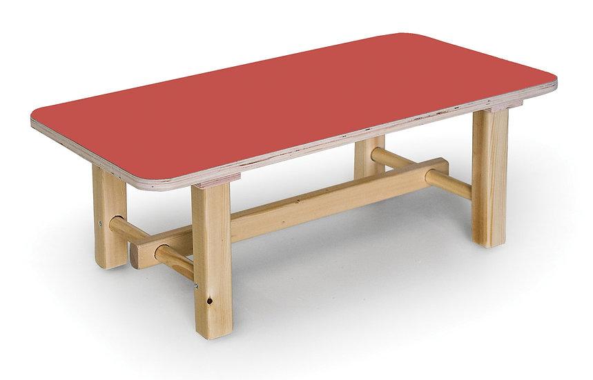 שולחן רגלי עץ