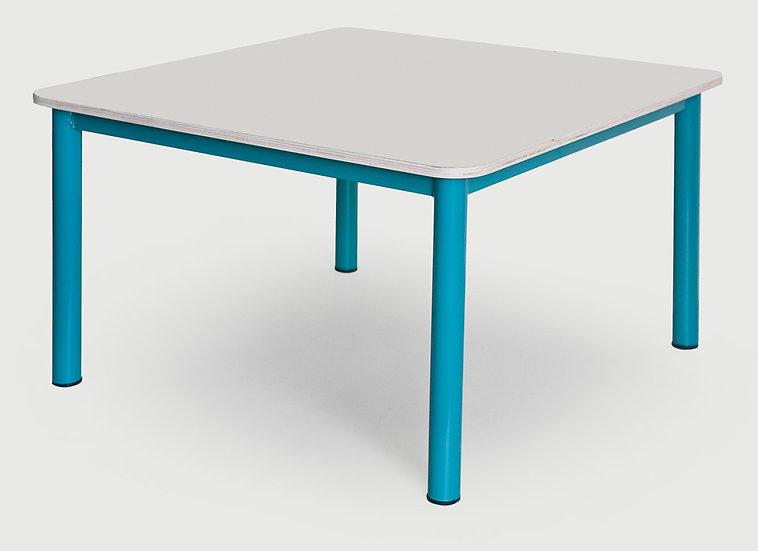 שולחן 90/90 - רגלי מתכת