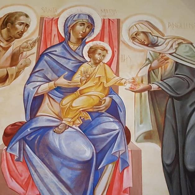 Frescoes in Assisi
