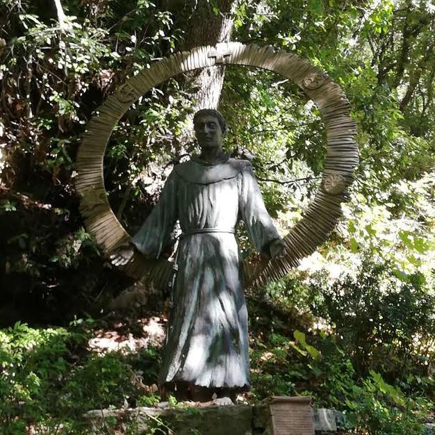 St Francis (with all religions) at Eremo Della Carceri