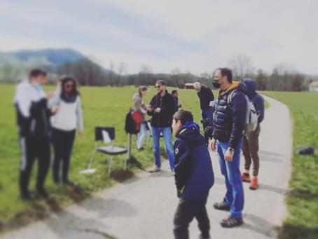 Rallye et chasse aux oeufs de Pâques