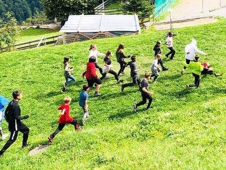 Camp d'une semaine à Isenfluh