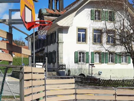 L'école du  Potier à Montpreveyres