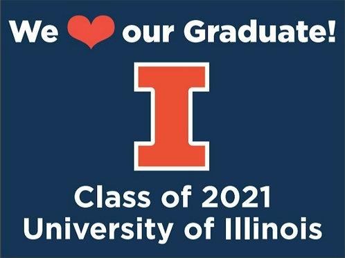 2021 Illini Grad Sign